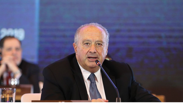 Horacio Muratore was named the new President of the International Basketball Foundation ©FIBA