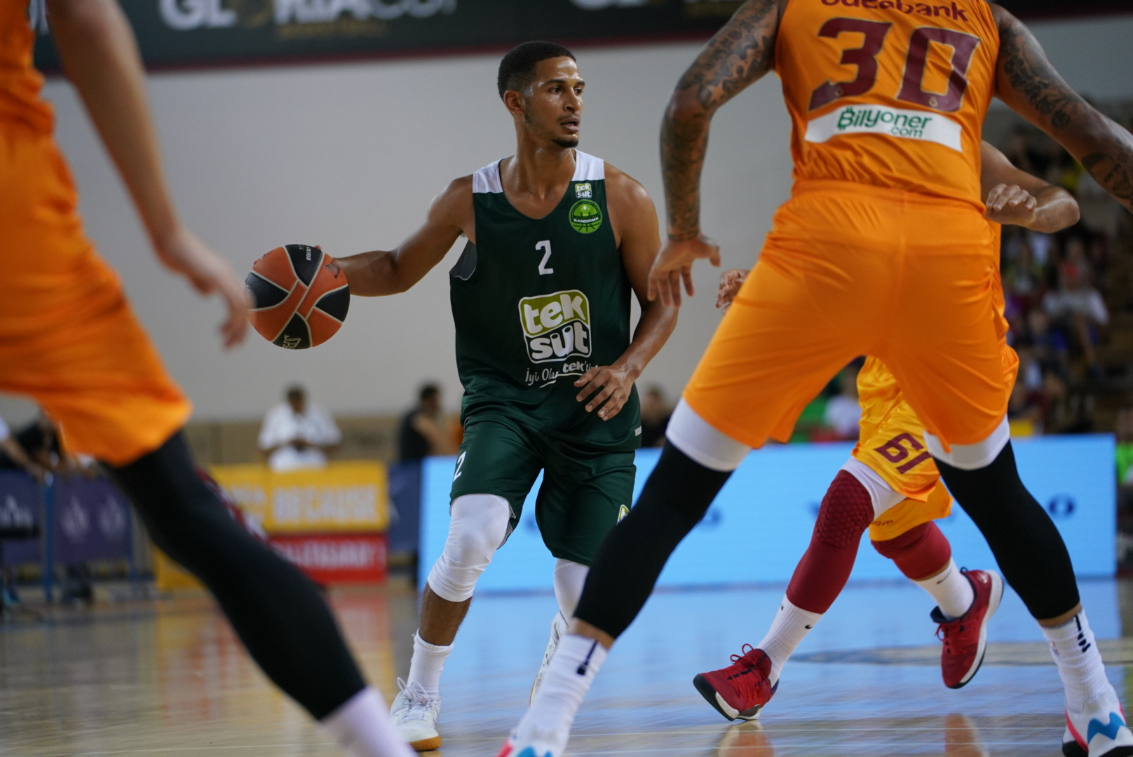 James Elliott Smith scored 12 points for TEKSÜT Bandırma on finals day in Antalya ©GSA