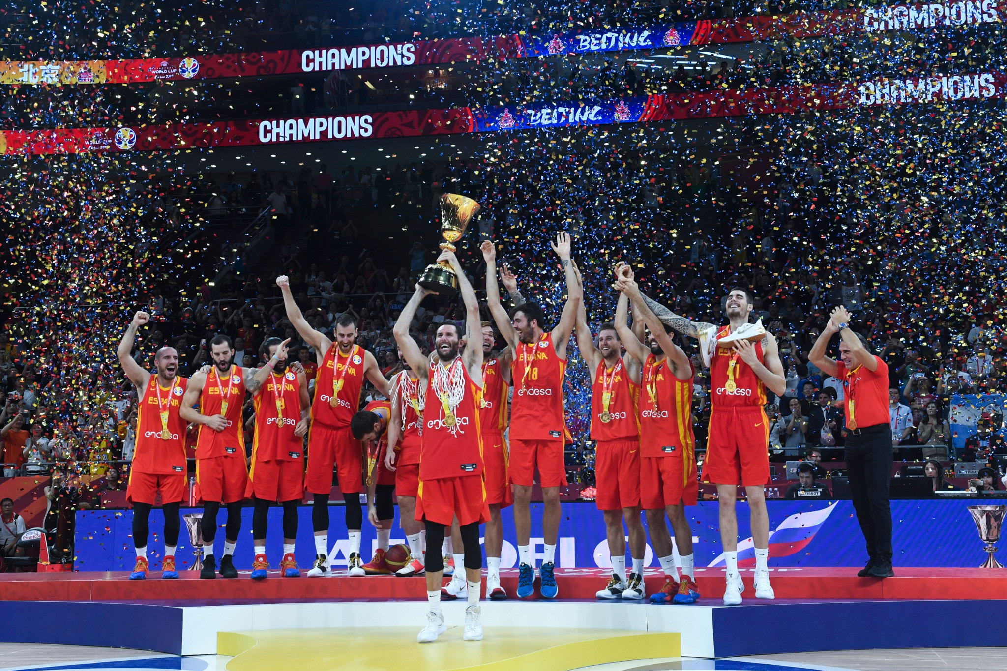 Rubio earns MVP vote as Spain reclaim FIBA World Cup with victory over Argentina