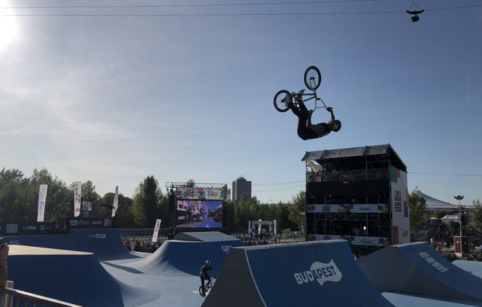 insidethegames is reporting LIVE from the World Urban Games in Budapest