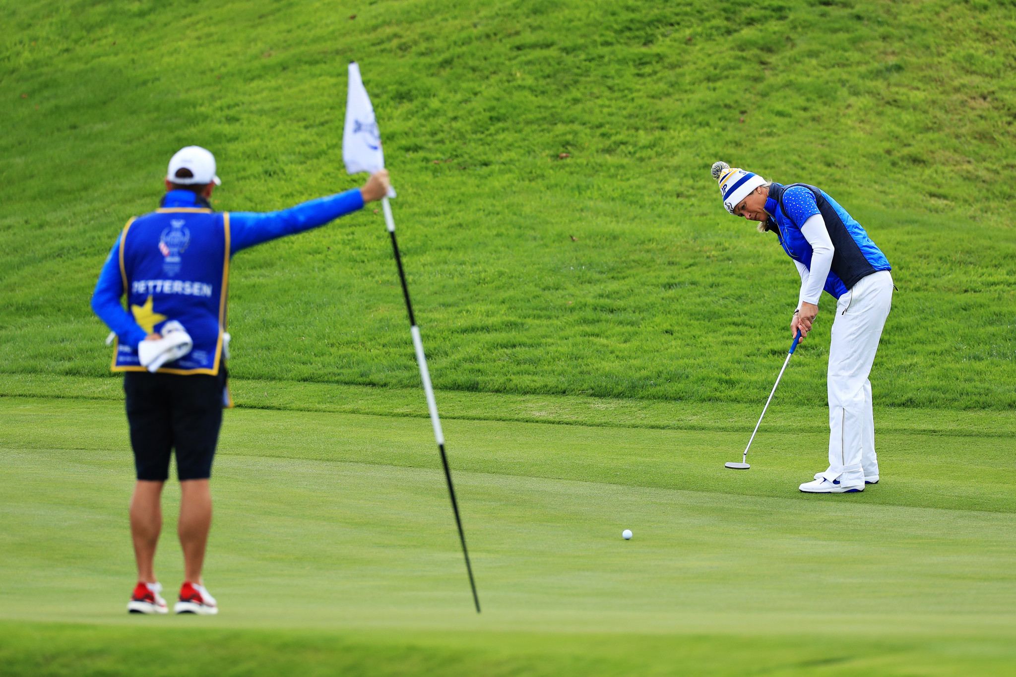 Europe regain Solheim Cup with dramatic victory over United States