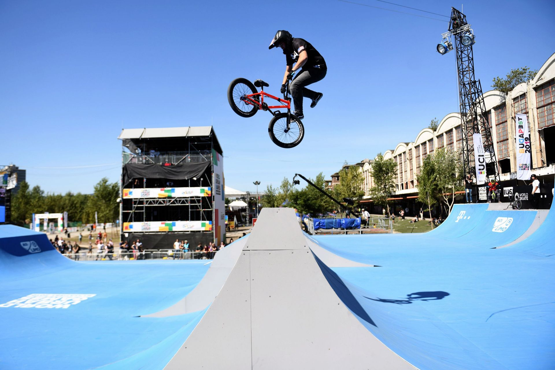 Roberts cruises to BMX freestyle gold as United States top medal table at first World Urban Games