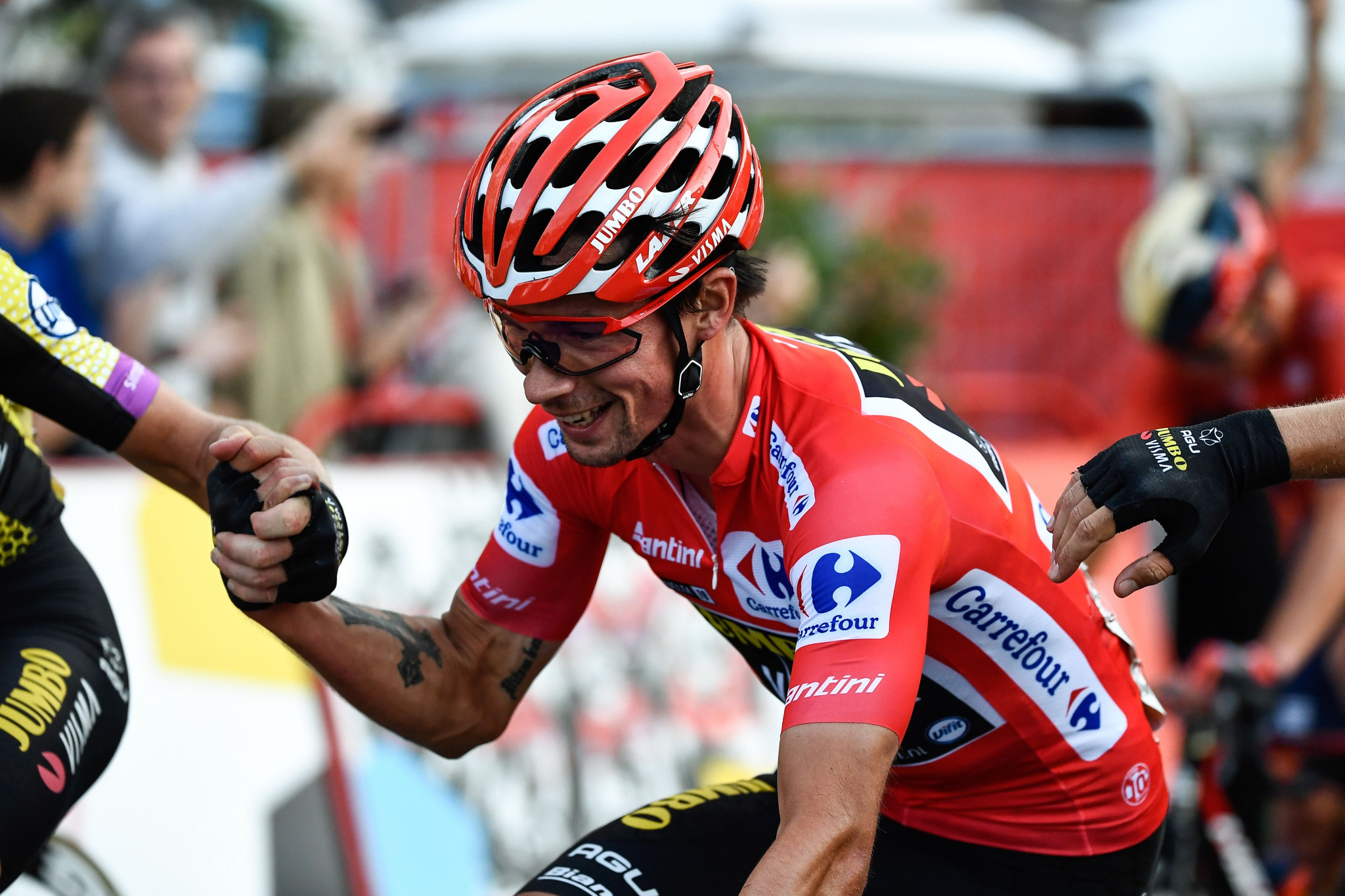 Roglič secures first Grand Tour title with victory at Vuelta a España