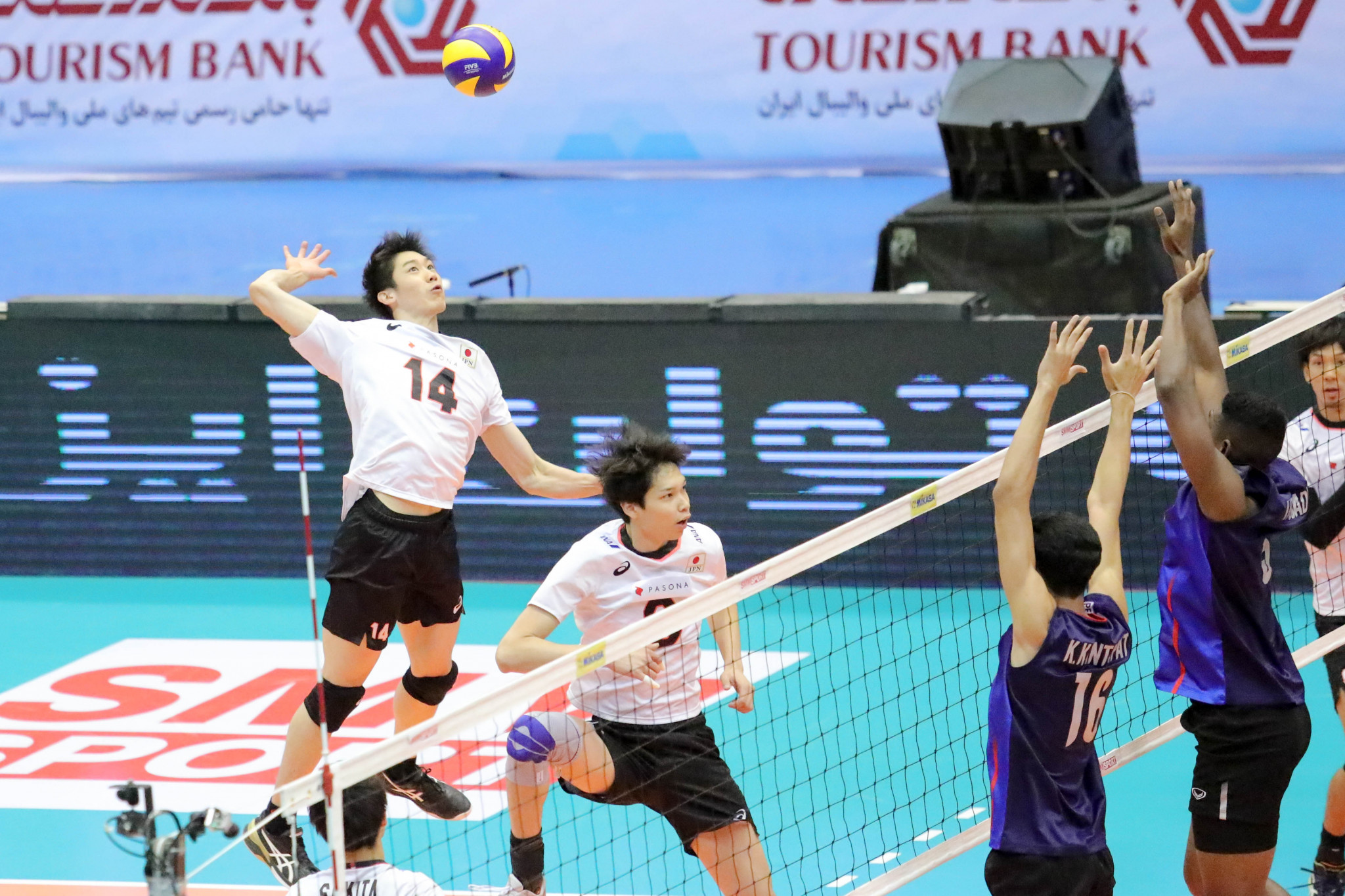 Defending champions Japan end preliminary stage with perfect record at Asian Men's Volleyball Championship