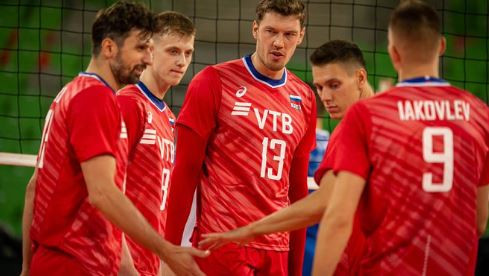 Defending champions Russia have won their three opening matches in the European Men's Volleyball Championships ©Twitter