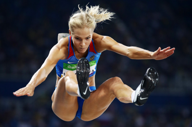 Long jumper Darya Klishina, Russia's sole eligible and selected track and field athlete at the Rio 2016 Games, was allowed to compete representing Russia rather than as an Authorised Neutral Athlete ©Getty Images