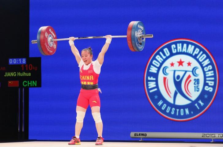 China's teenage sensation Huihua Jiang prevailed in the women's 48kg