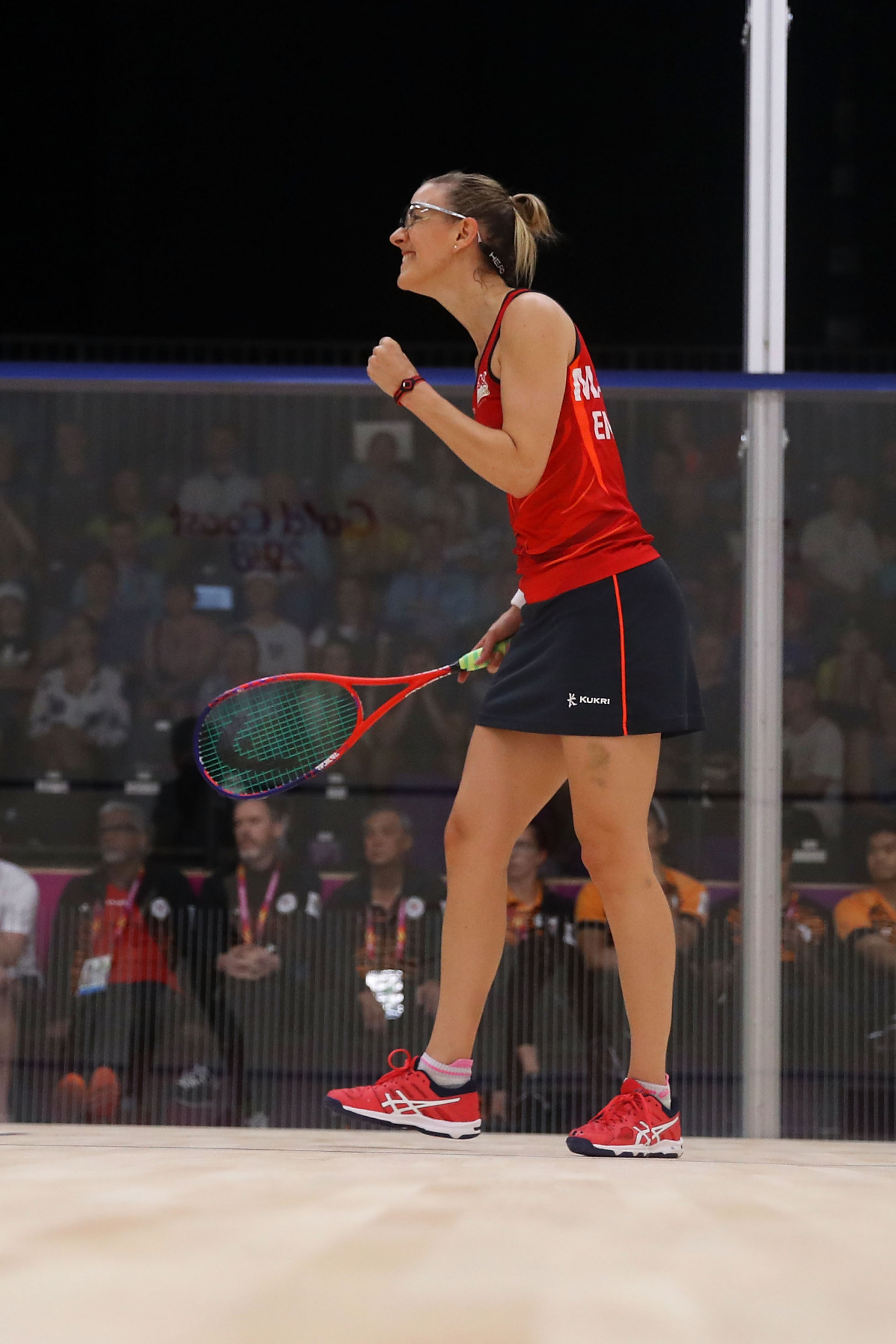 Laura  Massaro was crowned as world squash champion in 2013 ©Getty Images
