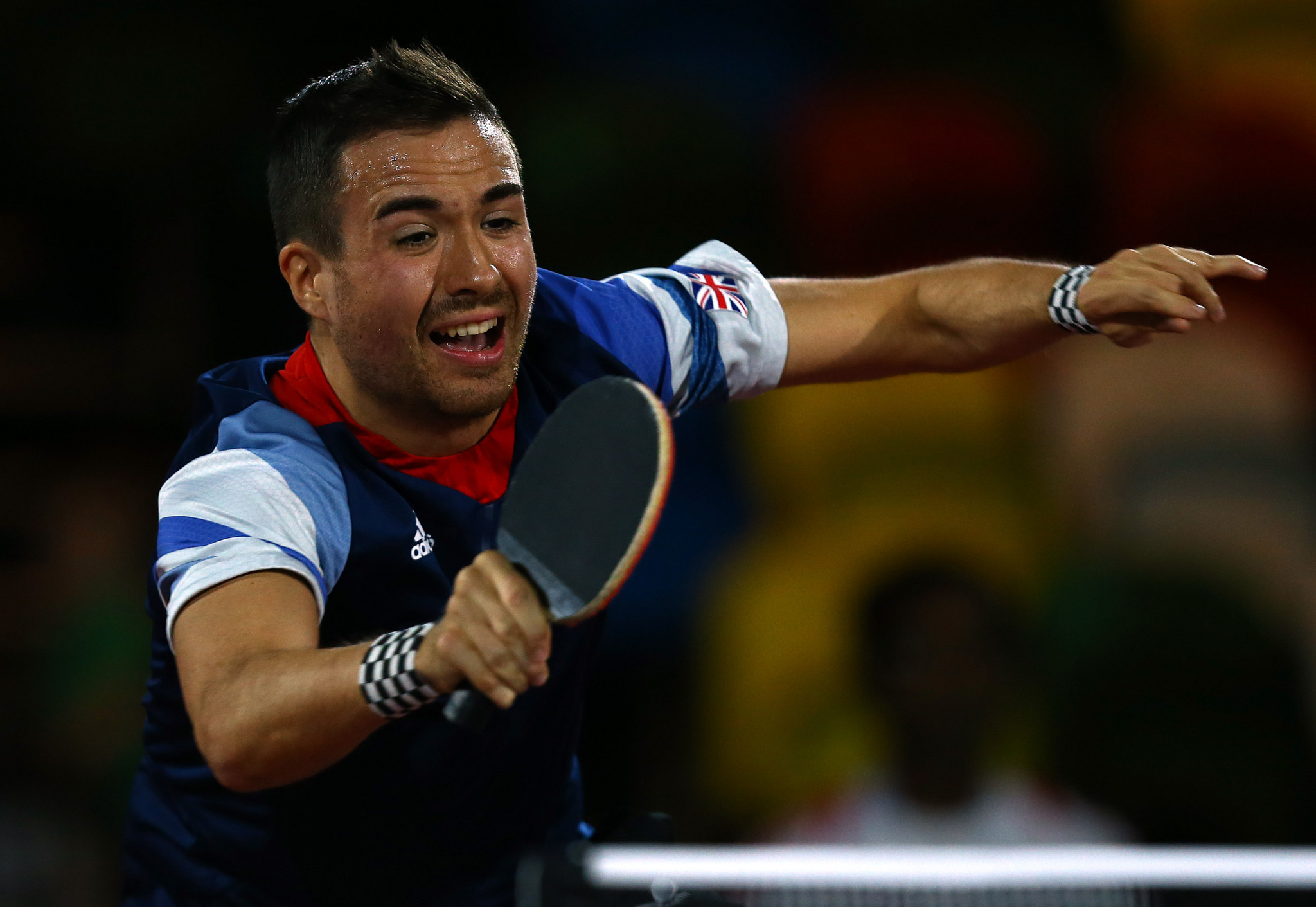 Bayley has his dancing feet on for European Para Table Tennis Championships