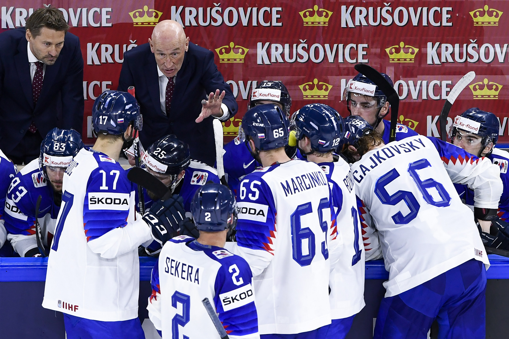 Ramsay signs one-year contract to remain Slovakia men's ice hockey head coach