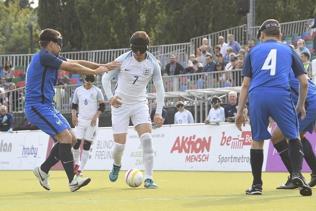 England will begin against Germany tomorrow after bronze last time ©IBSA