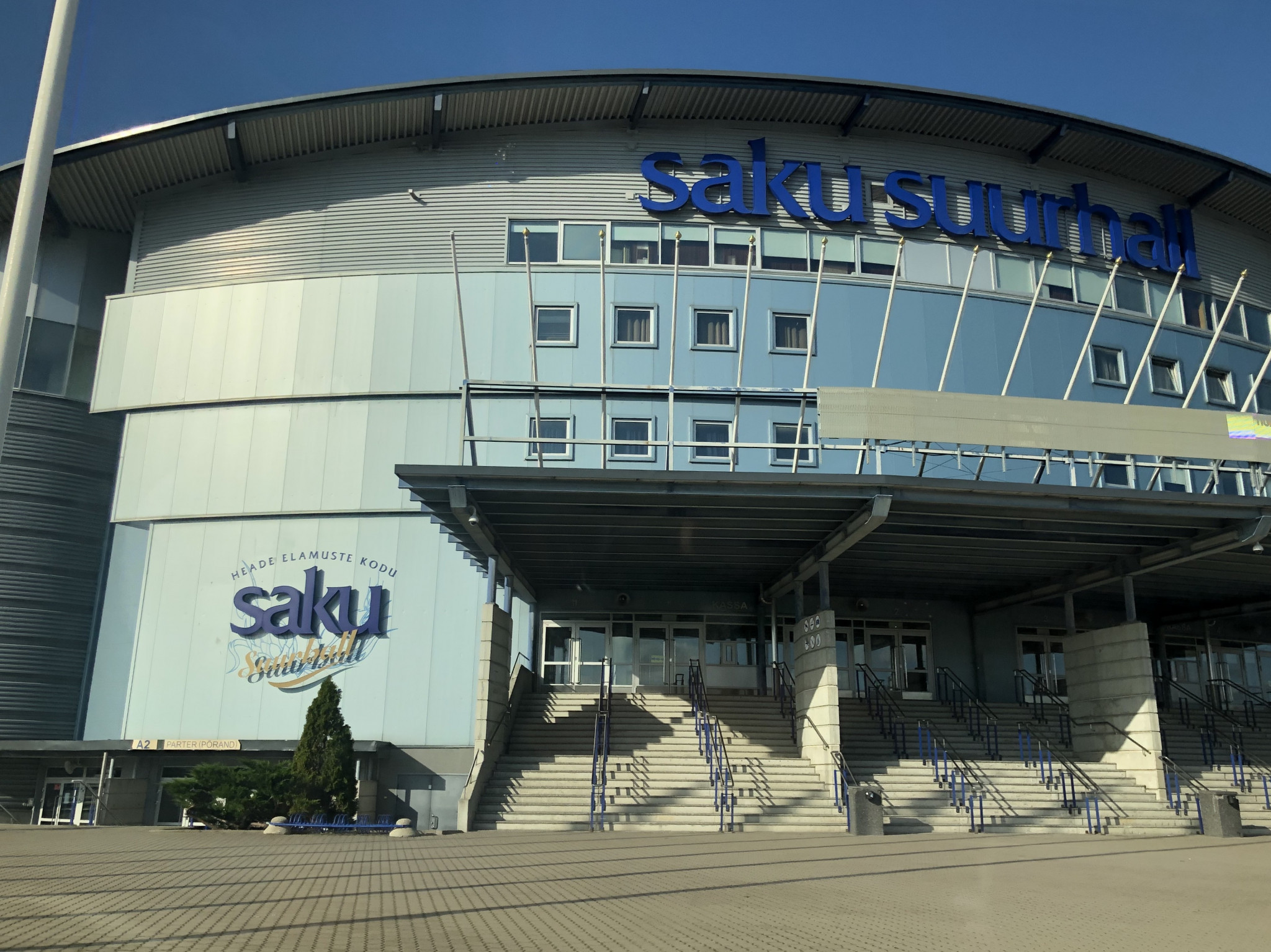 Competition will be held at Saku Suurhall next year ©WTE