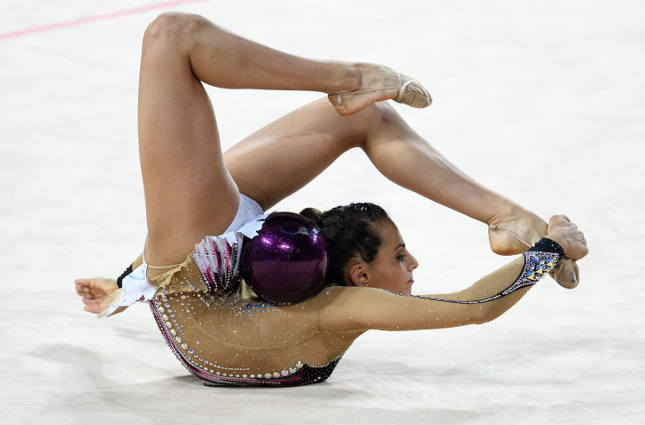 Israel's Linoy Ashram, all-around silver medallist at the last Rhythmic Gymnastics World Championships, will seek to go one better in Baku this week ©Getty Images