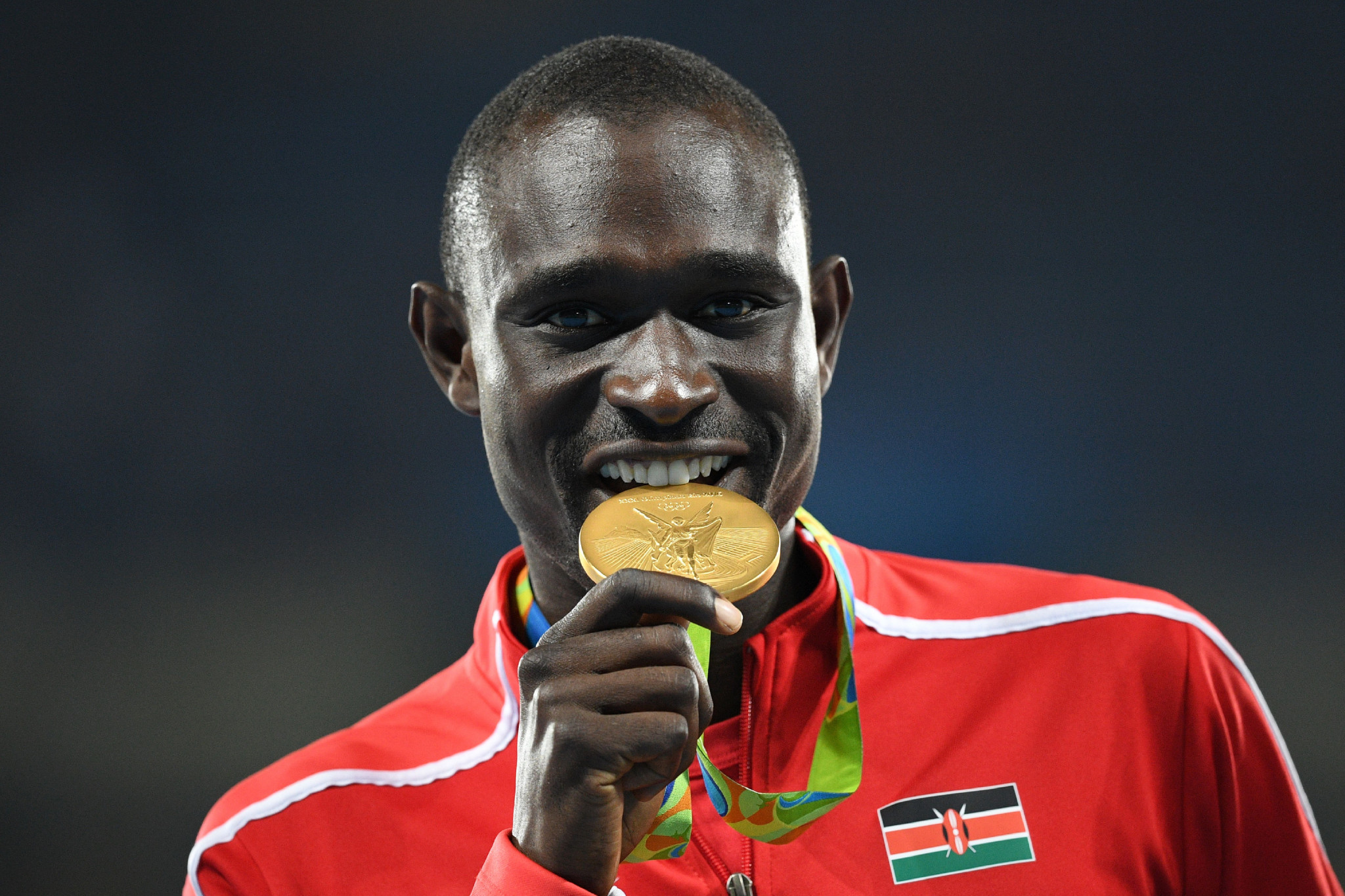 David Rudisha will hope to secure a third Olympic title next year at Tokyo 2020 ©Getty Images