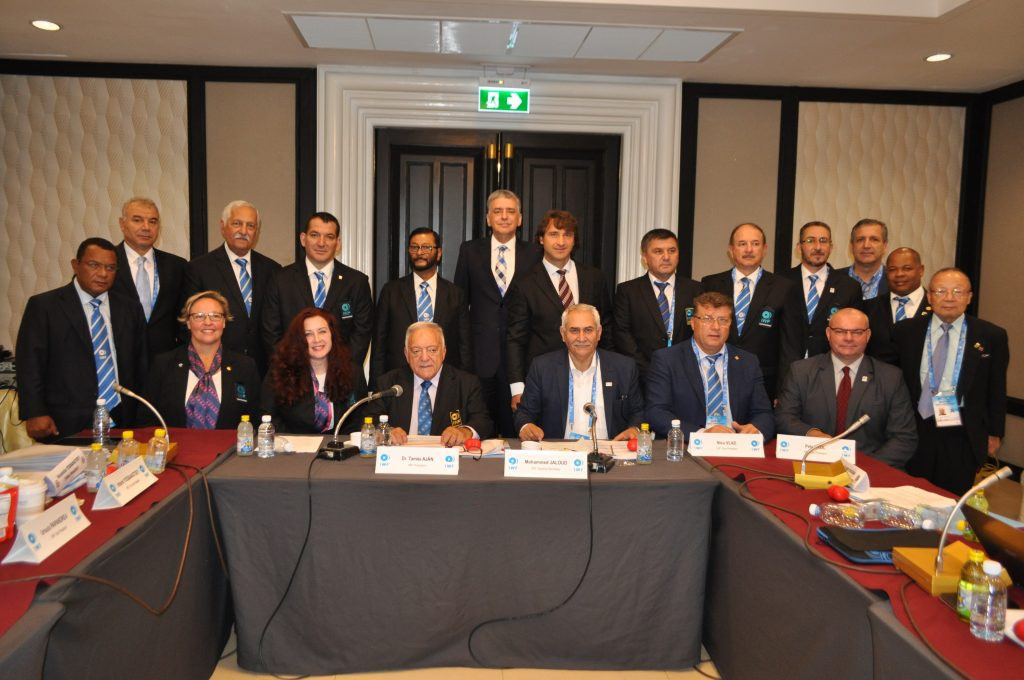 The IWF Executive Board's two-day meeting concluded this evening ©IWF
