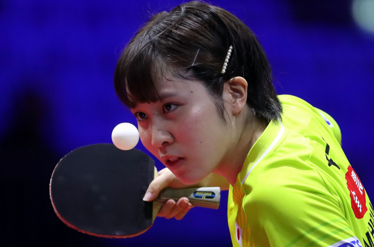 Miu Hirano helped Japan's women reach the semi-finals at the Asian Table Tennis Championships in Indonesia ©Getty Images