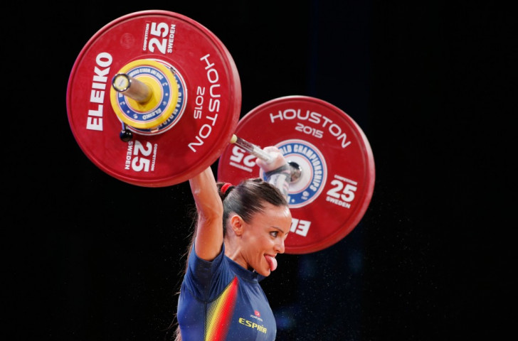 Estefania Juan Tello of Spain was one of two lifters to finish on 168kg in the women's 48kg Group C