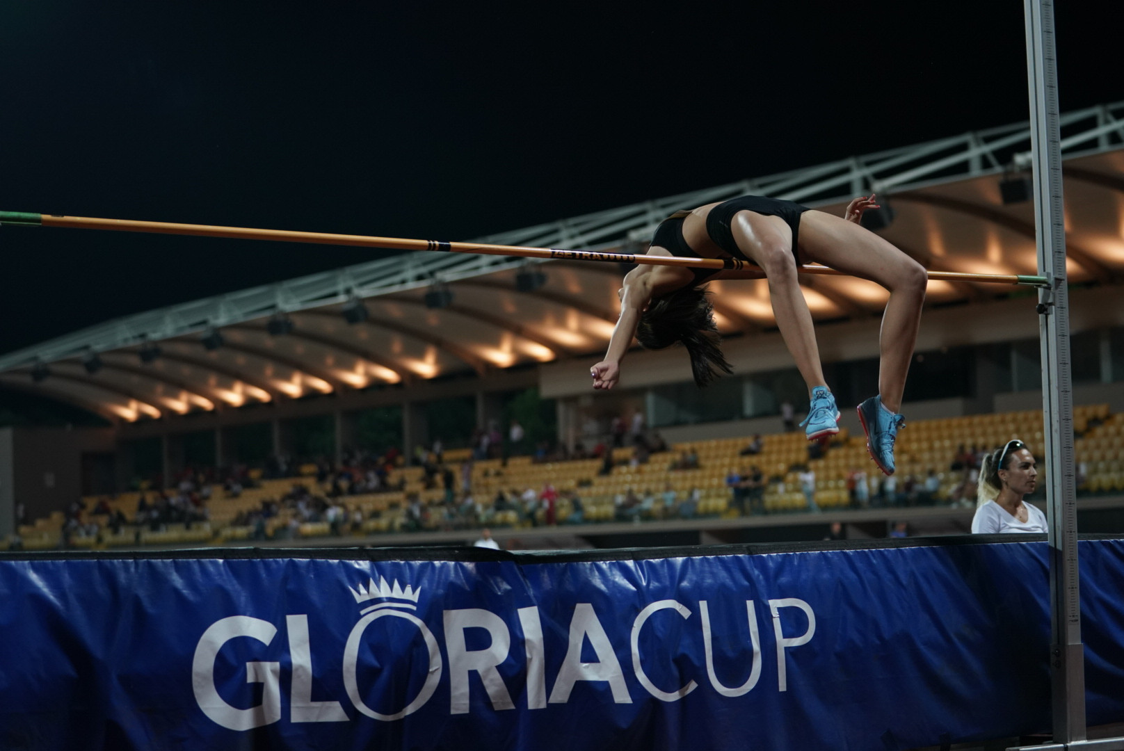 The women's high jump competition saw Ukraine claim first and second place ©GSA/ Mine Kasapoglu