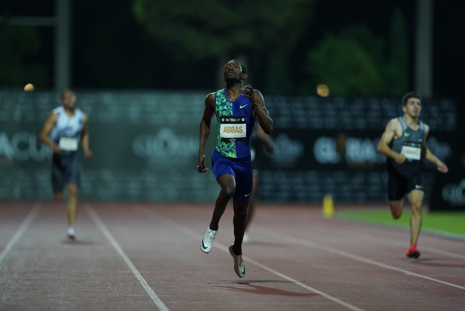 The 400m gold went to Bahrain compatriot Abbas Abubakar ©GSA/ Mine Kasapoglu