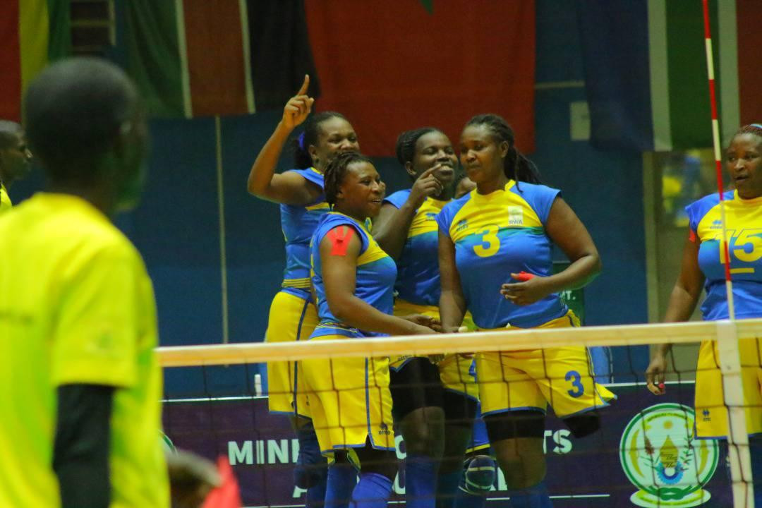 Rwanda march on with two more wins at Women's ParaVolley Africa Sitting Volleyball Championships