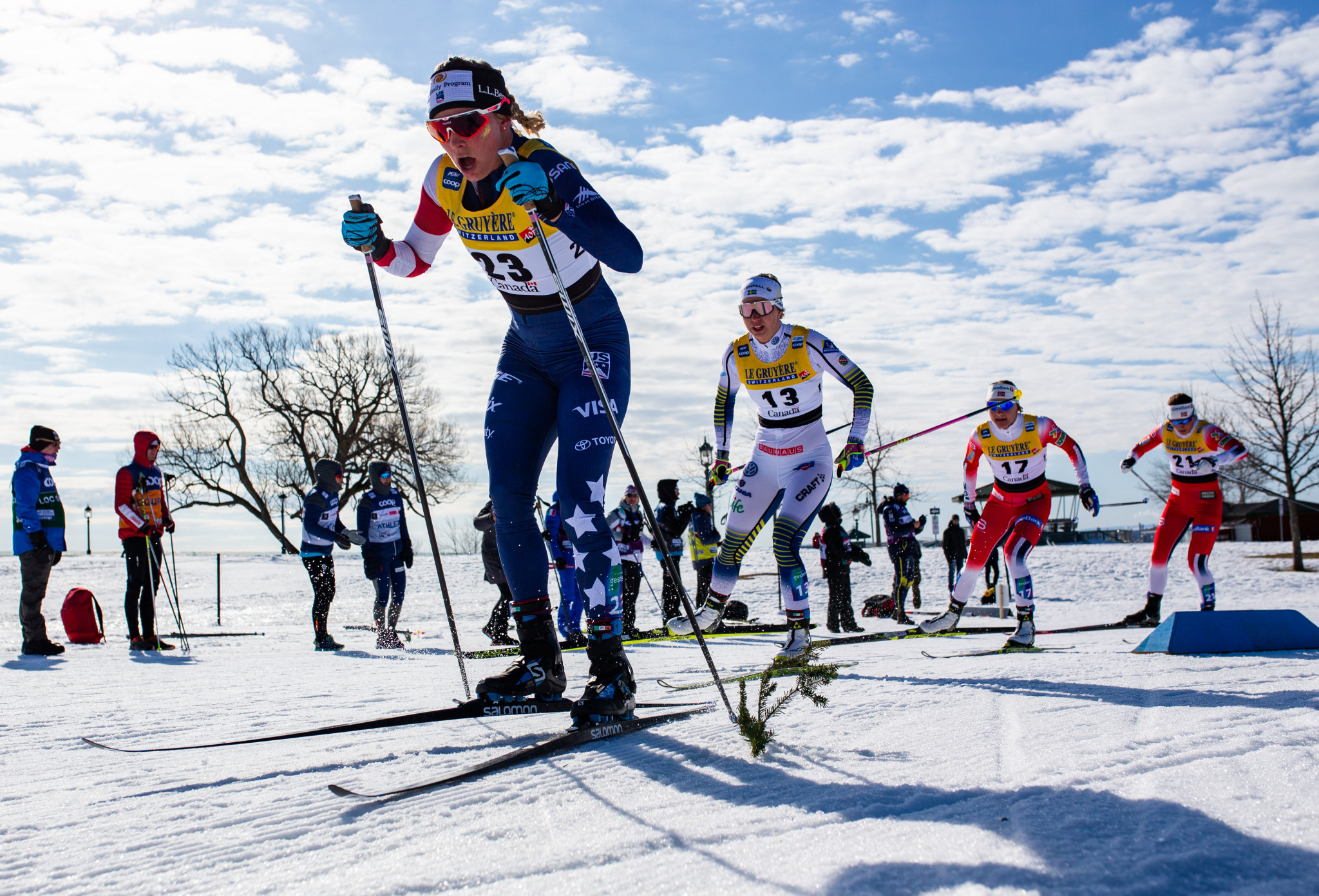 Cross-country officials assess preparations for inaugural Ski Tour