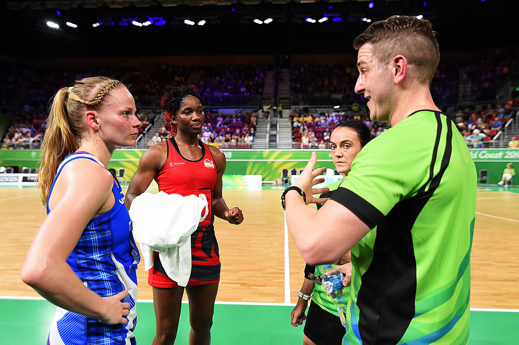 The International Netball Federation is working to improve its officiating ©INF