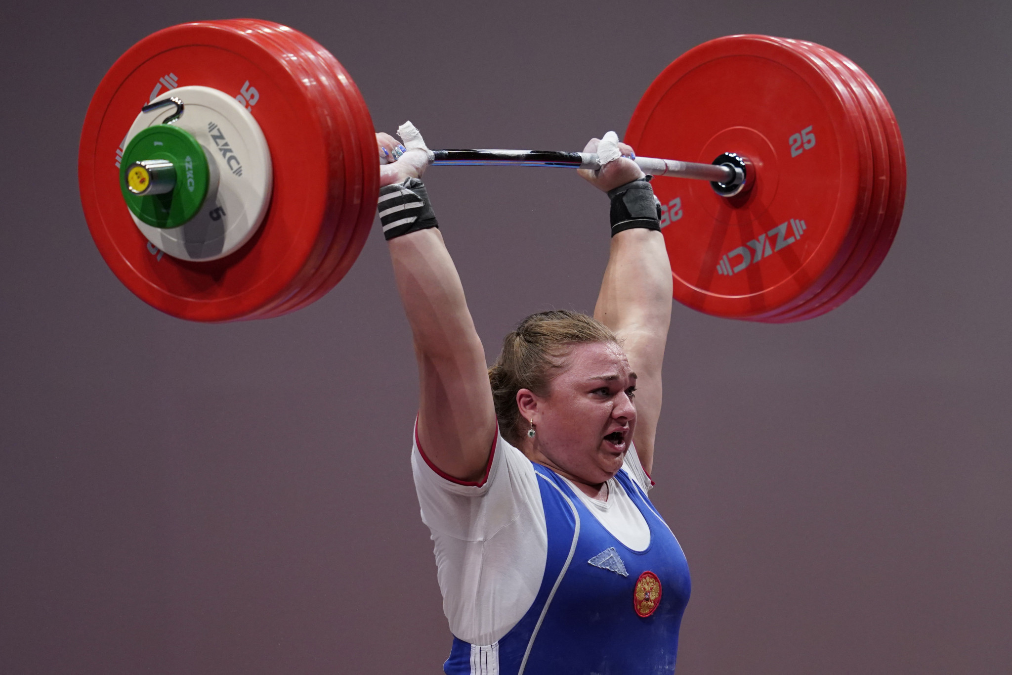 Russia's Tatiana Kashirina will be looking to further enhance her IWF World Championships medal haul ©Getty Images