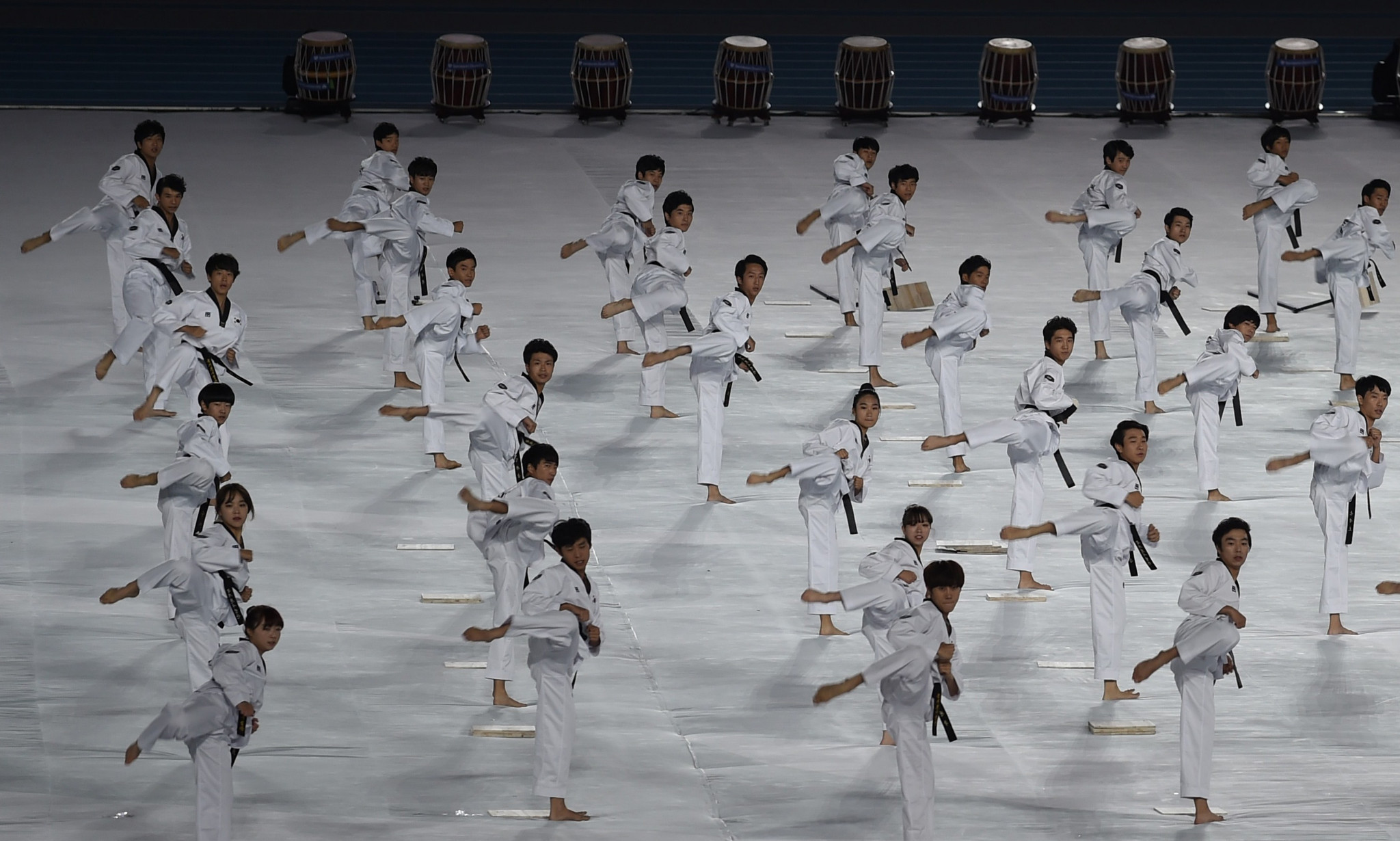 US taekwondo students get chance to earn black belts on South Korean tour