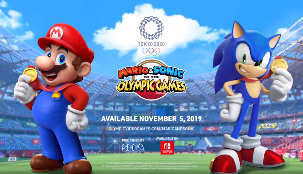 Trailer released for Mario & Sonic at the Tokyo 2020 Olympic Games