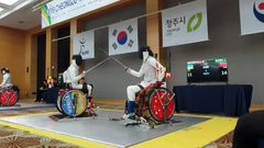 Britain's Gilliver earns golden birthday present as China dominate day one of Wheelchair Fencing World Championships