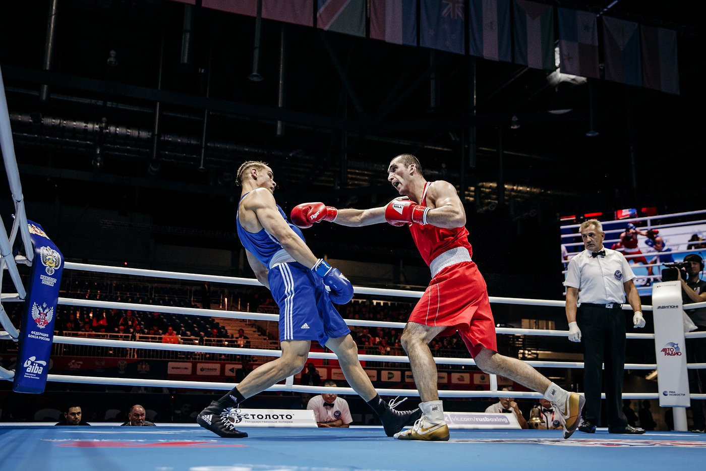 European champion Muslim Gadzhimagomedov reached the heavyweight quarter-final at the AIBA World Championships ©Yekaterinburg 2019