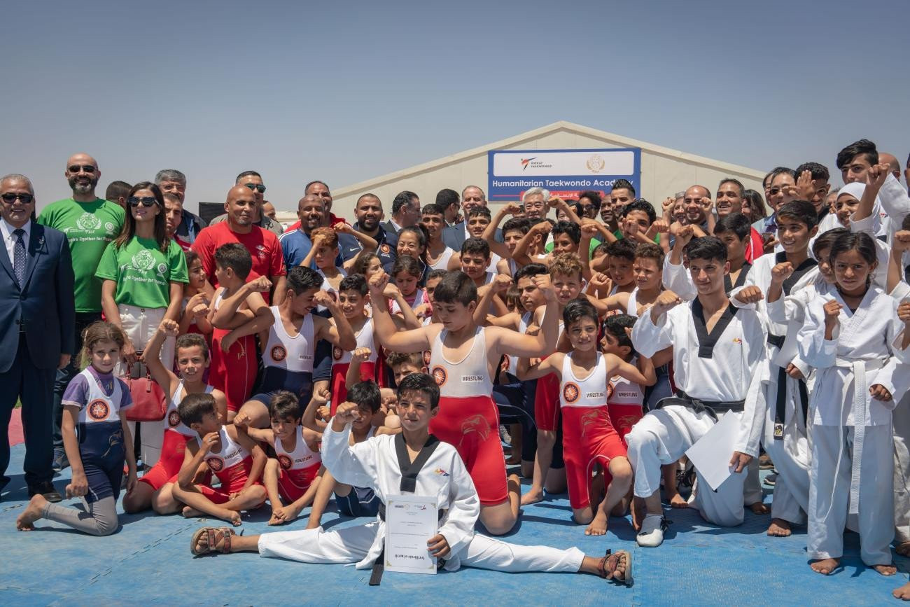 The three organisations held a joint event in Jordan in July ©THF