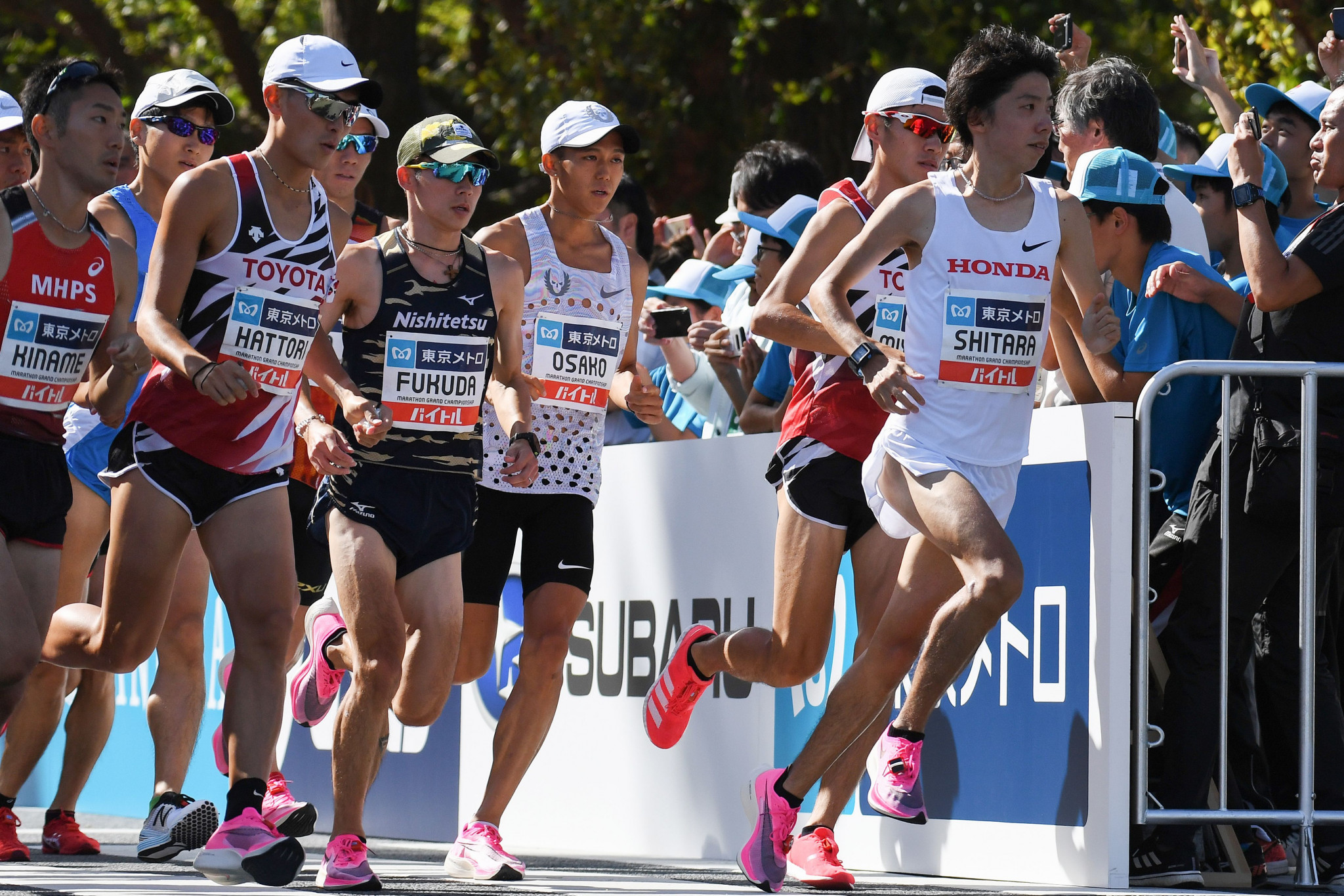 Sebastian Coe has praised the Tokyo 2020 marathon course ©Getty Images