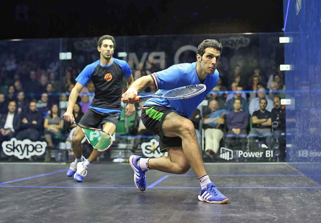 Egypt's Omar Mosaad beat compatriot Tarek Momen to secure his place in the final