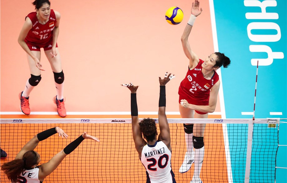 China are yet to drop a set at the World Cup ©FIVB