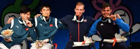 It was another good day for China and Britain at the Wheelchair Fencing World Championships ©IWASF