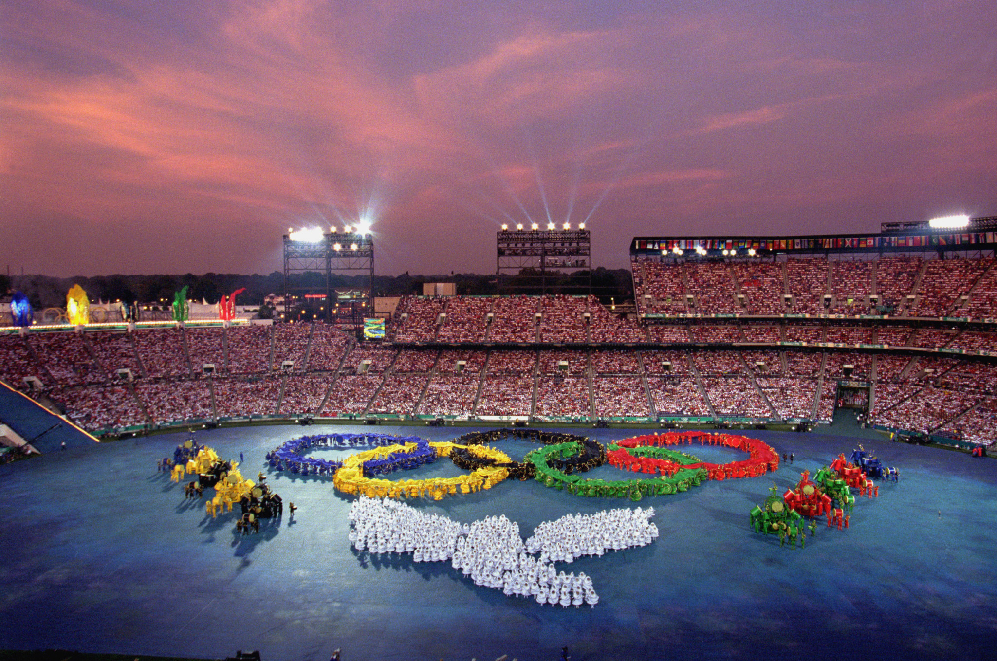 Atlanta landed the 1996 Olympics, much to the chagrin of Athens ©Getty Images