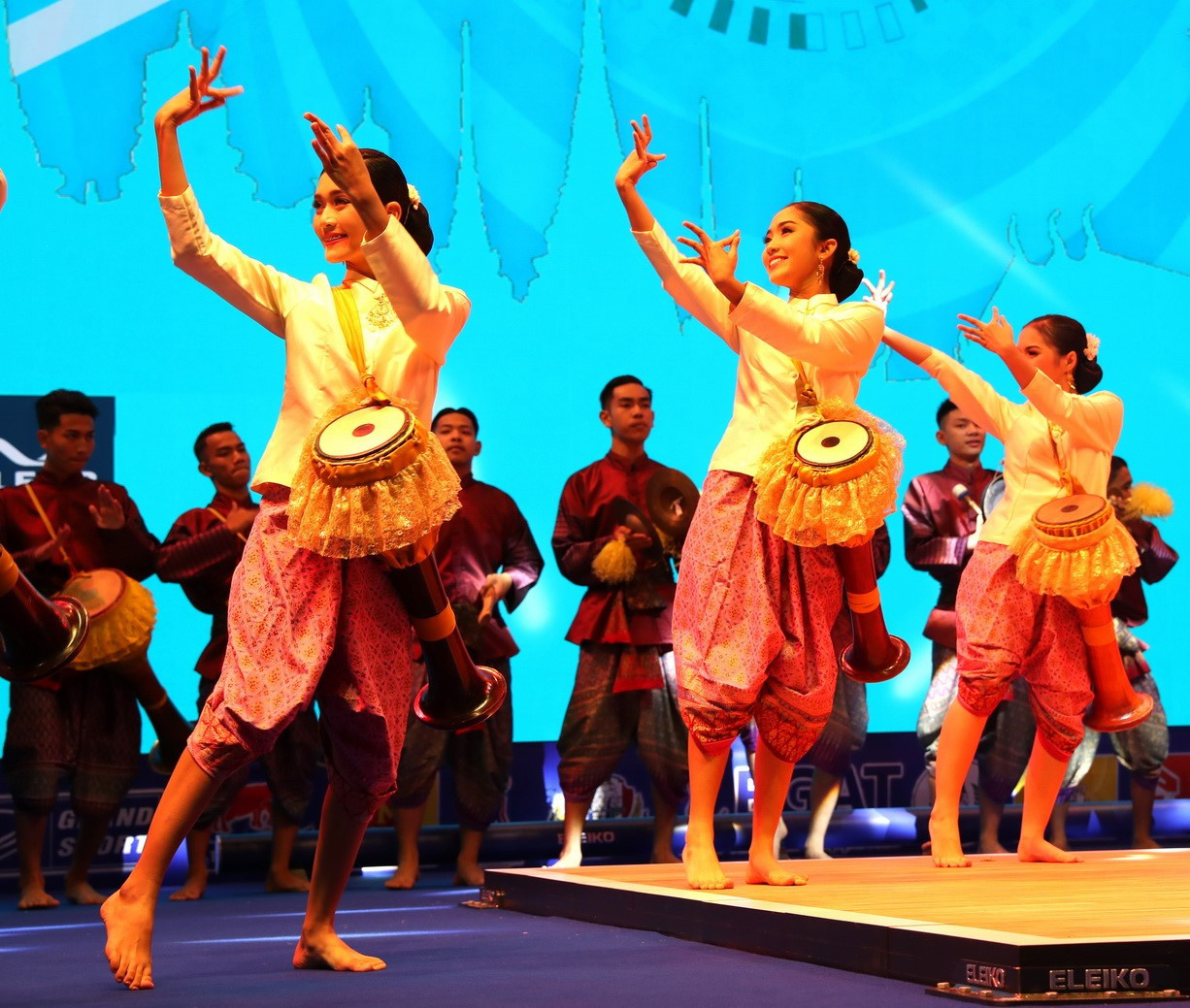 The Opening Ceremony demonstrated the best of Thailand's rich culture ©IWF