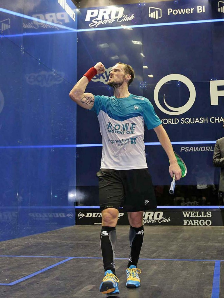 Gaultier ends Willstrop charge to reach final of PSA Men's World Championship
