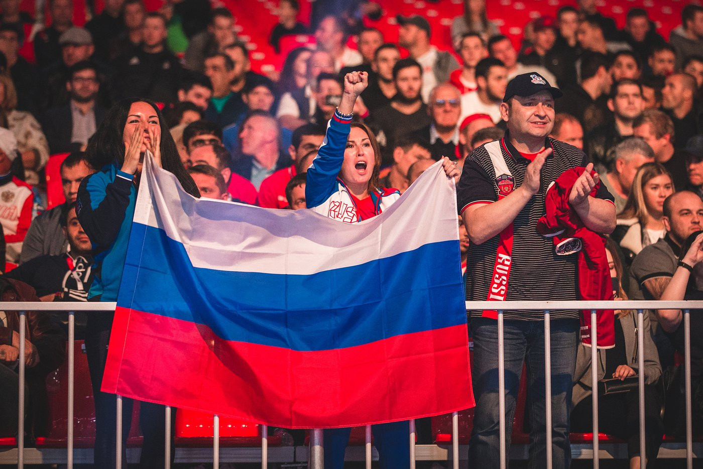 The result delighted the Russian crowd in the venue ©Yekaterinburg 2019