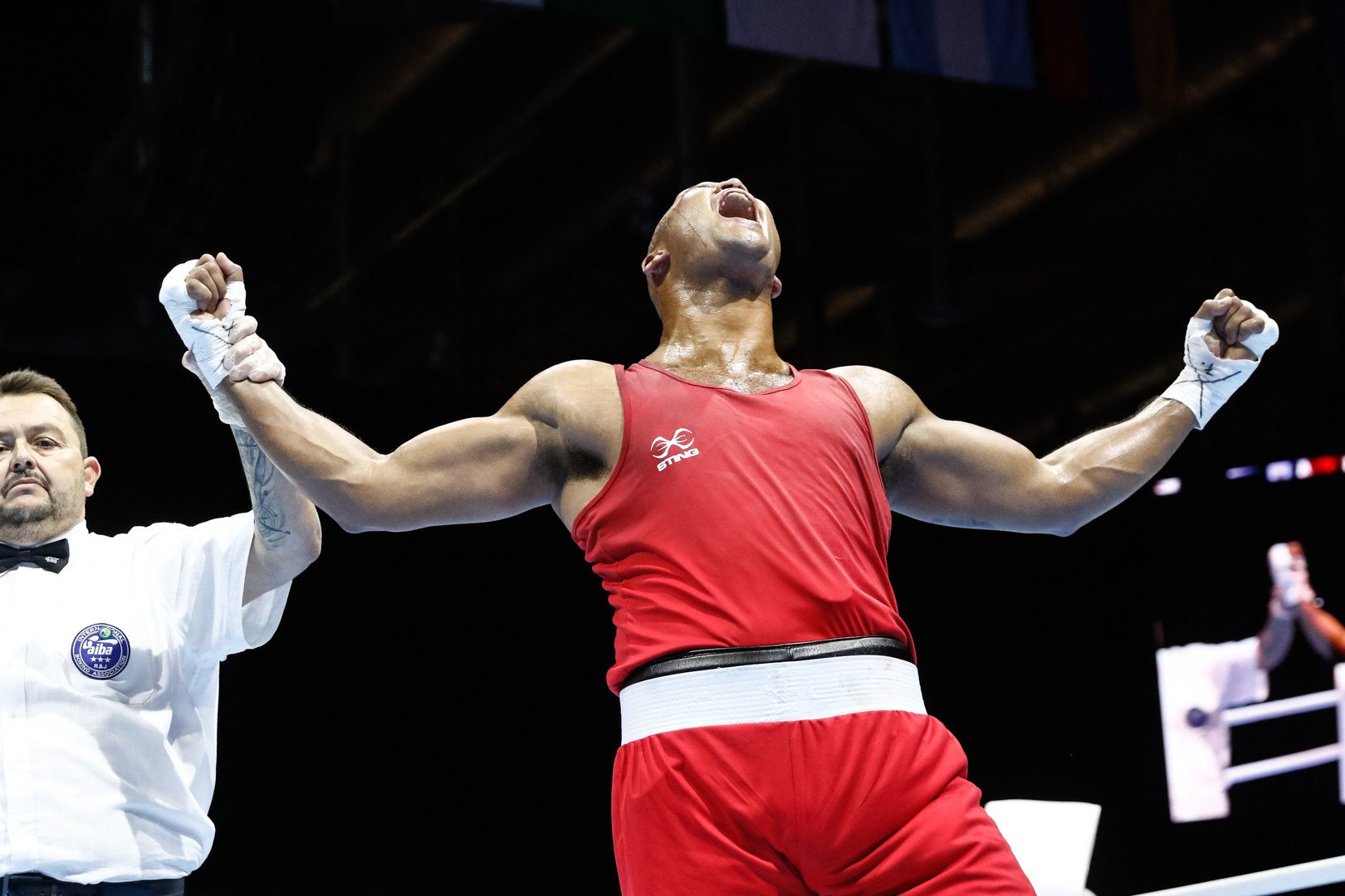 England's Commonwealth champion Frazer Clarke was booed as he narrowly defeated Russia's Maksim Babanin at the AIBA World Championships ©Yekaterinburg 2019