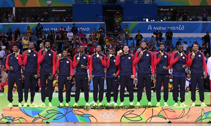 The US are the reigning Olympic basketball champions, having topped the podium in Rio in 2016 ©FIBA