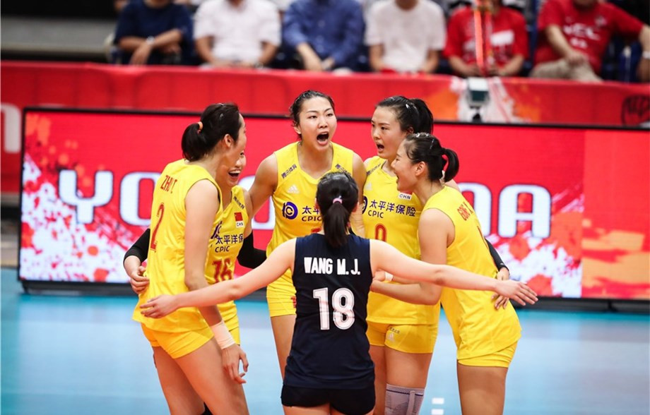 China seal fifth win at FIVB Women's World Cup and are yet to drop a set