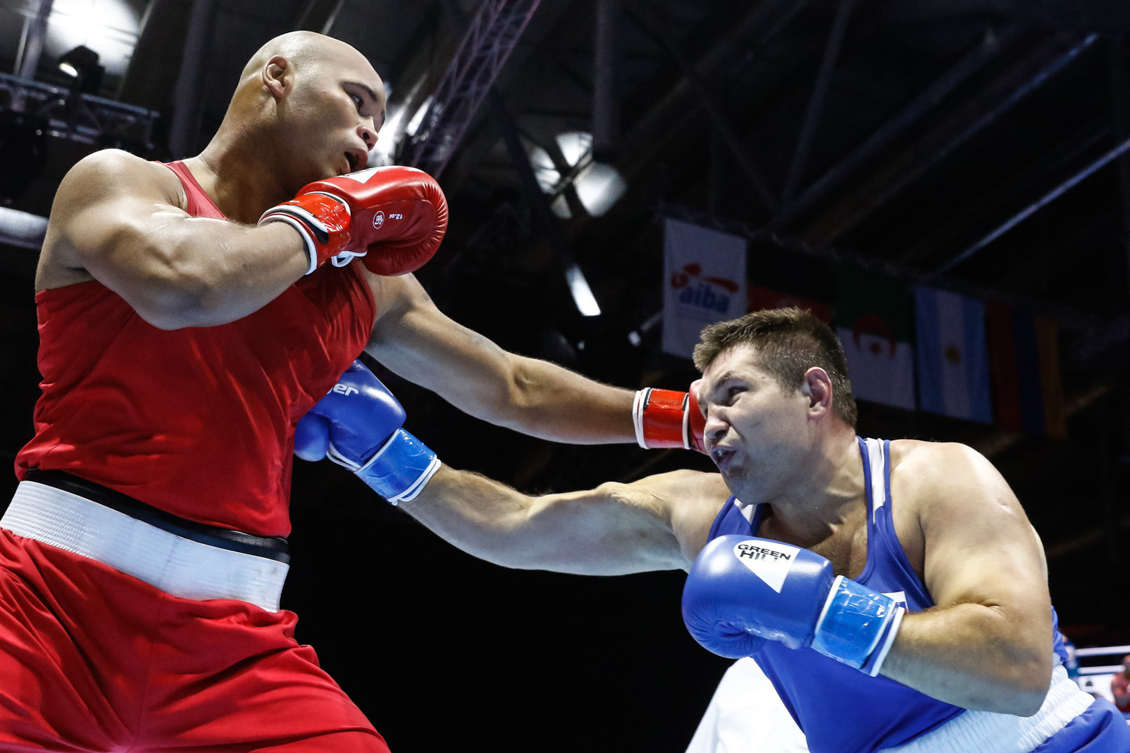 "The AIBA technical delegate confirmed that the result had been overturned after it was deemed that Babanin was ""more competitive"" than Clarke in the the third round of the bout ©Yekaterinburg 2019"