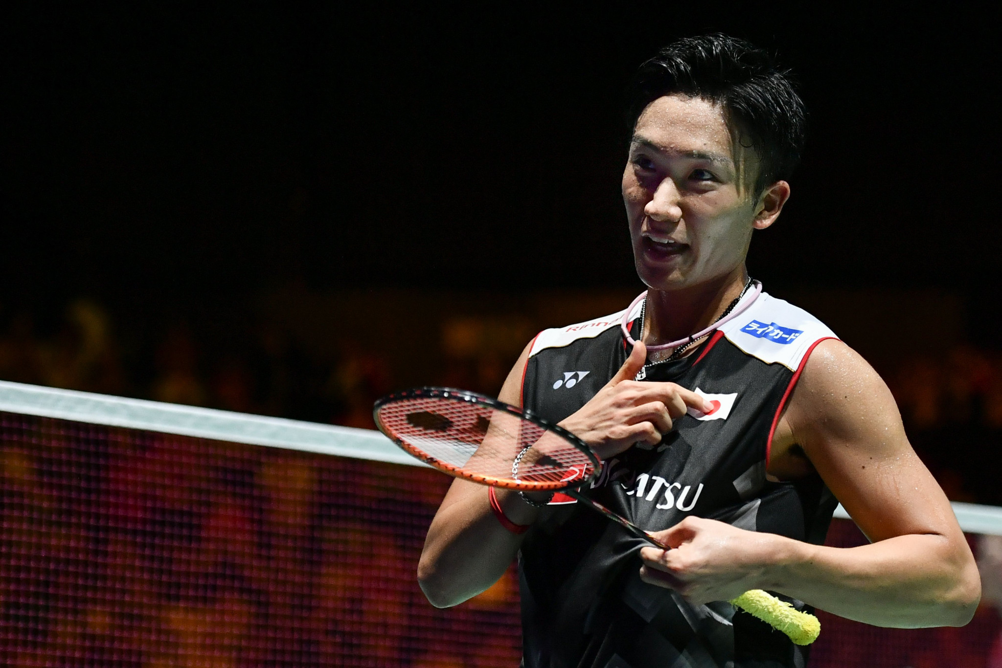 Kento Momota continued serene progression to reach the quarter-finals ©Getty Images