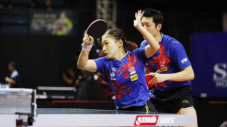 World number one Xu Xin teeters on brink of early exit in men's singles at Asian Table Tennis Championships