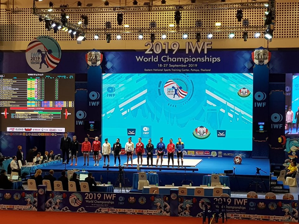IWF World Championships: Day three of competition