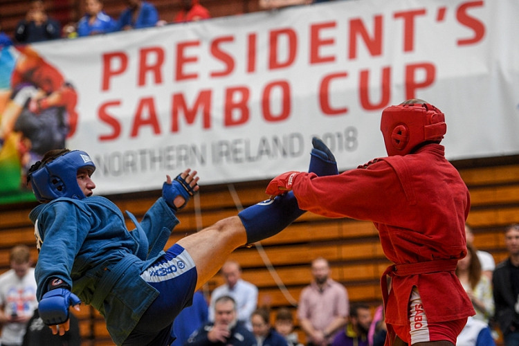 Russia aiming to maintain President's Sambo Cup dominance in Ballymena