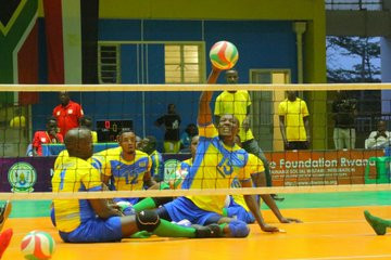 Rwanda beat Kenya at Men's ParaVolley Africa Sitting Volleyball Championships