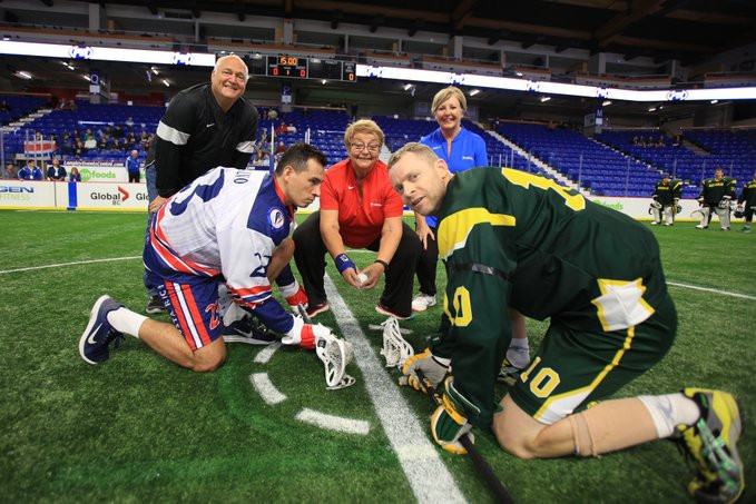 Canada cruise to opening victory at Lacrosse Men's Indoor World Championship